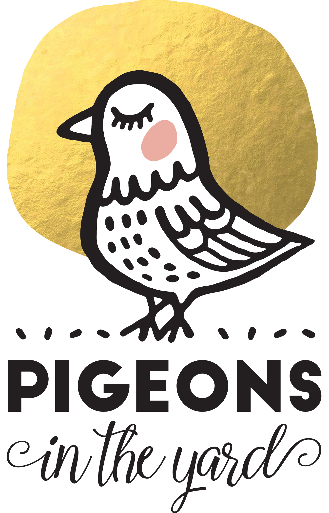 Pigeons in the Yard